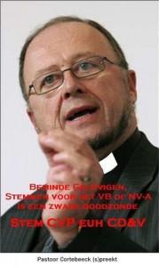 Pastoor Cortebeeck (s)preekt