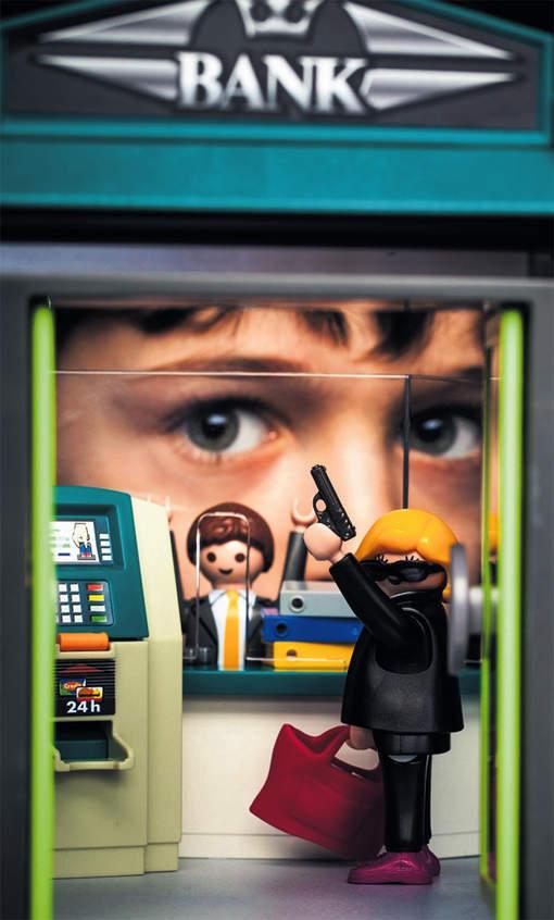 playmobil bankoverval