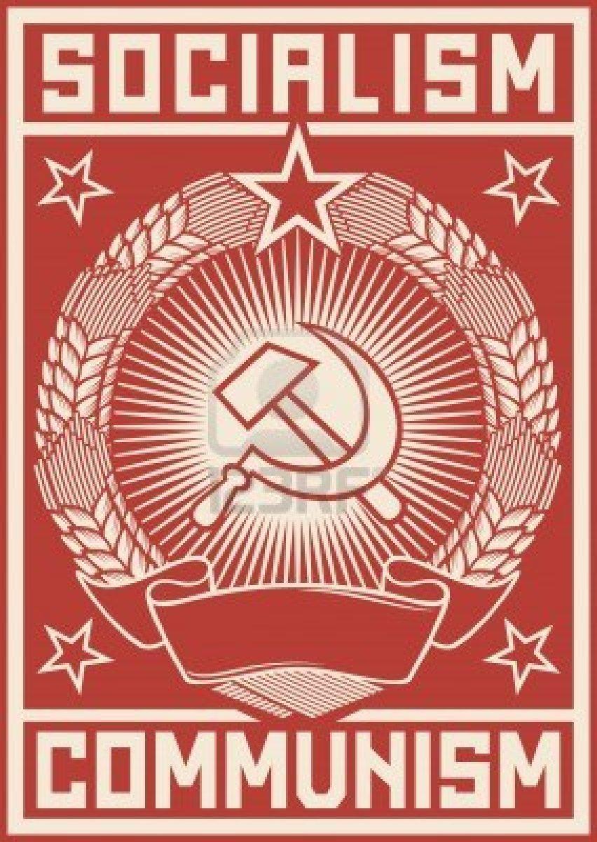 socialisme--communisme-poster