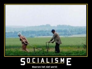 socialisme werkt niet