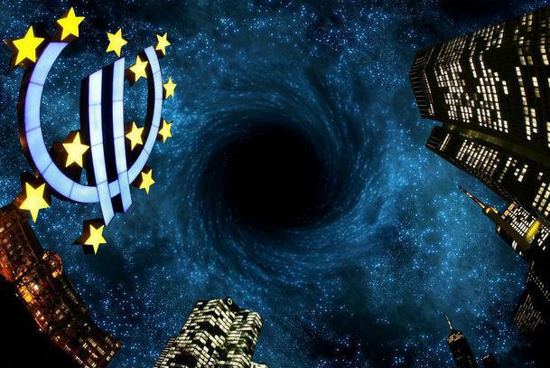 eurozone zwart gat