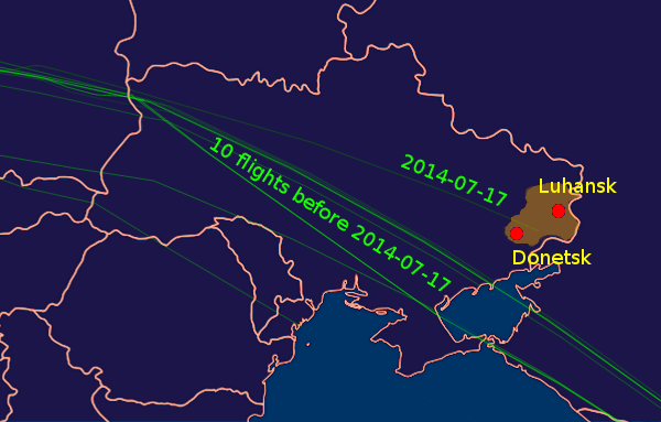 MH-17-flight-paths