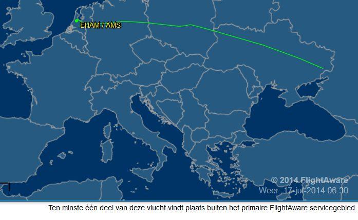 Malaysia Flight  MAS17  july 17 2014