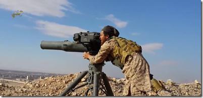 isis met tow anti tankraketten palmyra mei 2015