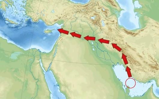 gas uit Iran