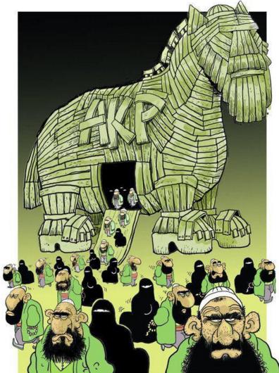Turkse paard van troje